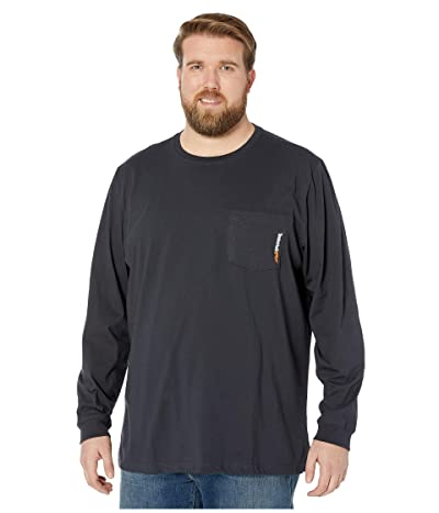 Timberland PRO Big Tall Base Plate Blended Long Sleeve T-Shirt