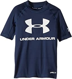 Under Armour Kids UA Comp Short Sleeve Rashguard (Little Kids/Big Kids)