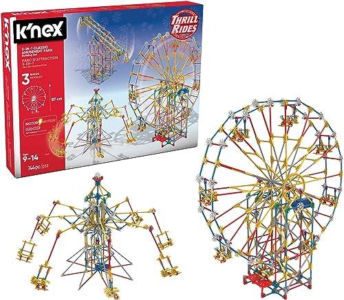 K'NEX 33956 - Thrill Rides - Classic Ferris Wheel - 744 Pieces - 9+ - Bau- und Konstruktionsspielzeug