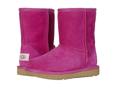 UGG Kids Classic II (Little Kid/Big Kid) (Fuchsia) Girls Shoes