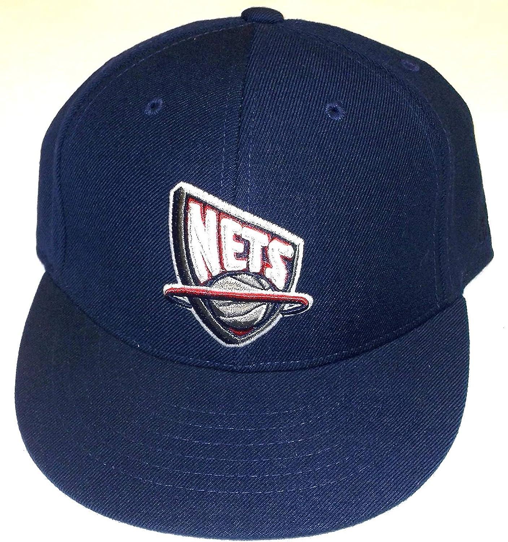Amazon.com : adidas NBA New Jersey Nets Flat Bill Fitted Youth Hat ...