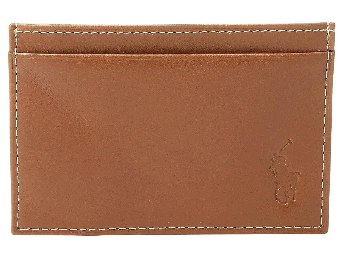 人形メロディー靴下[ポロラルフローレン] Polo Ralph Lauren メンズ Calf Leather Slim Card Case ウォレット [並行輸入品]