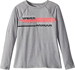 Under Armour Kids - Cross Branded Long Sleeve Tee (Big Kids)