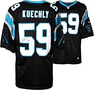 Luke Kuechly Carolina Panthers Autographed Nike Limited Black Jersey - Fanatics Authentic Certified - Autographed NFL Jerseys