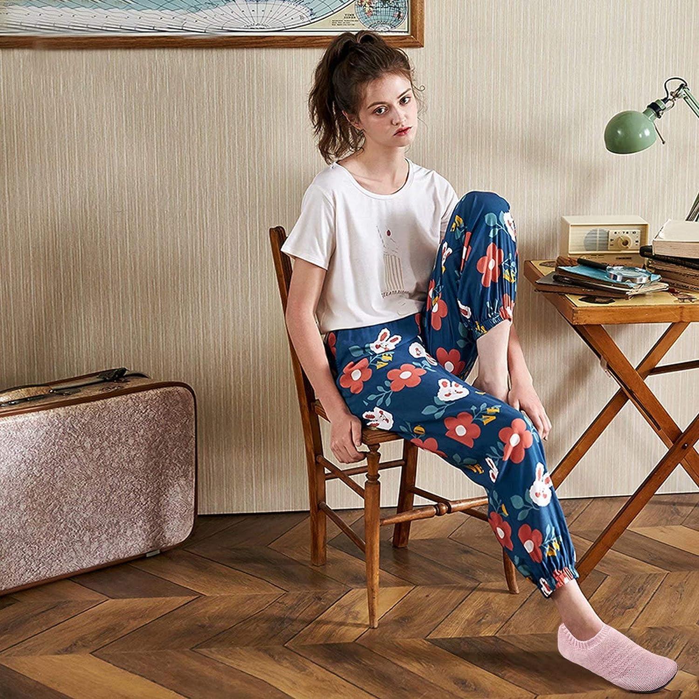 Sosenfer Hausschuhe Damen Herren Leichte h/üttenschuhe rutschfest Flache Pantoffeln Home Cozy Slippers Unisex