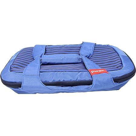Pyrex 3qt Portable Royal Blue Carry Tote