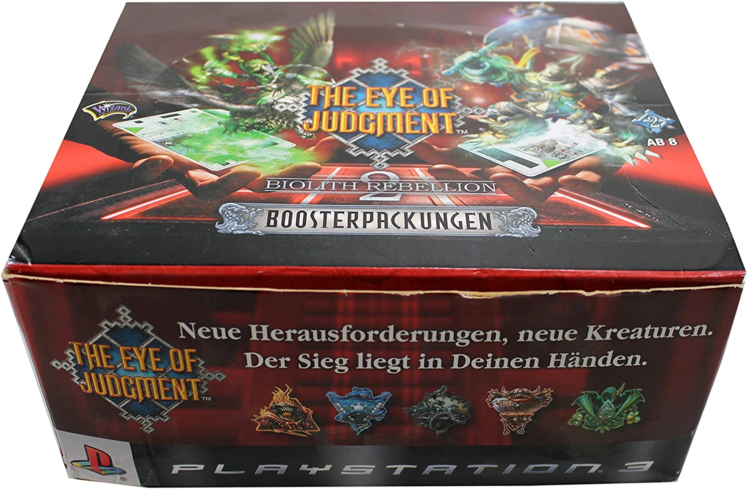 Wizard of the Coast - The Eye Of Judgement Biolith Rebellion 2 - Booster Display