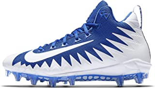 NIKE Mens Alpha Menace Pro Mid Football Cleats Game Royal 10 M US Shoe
