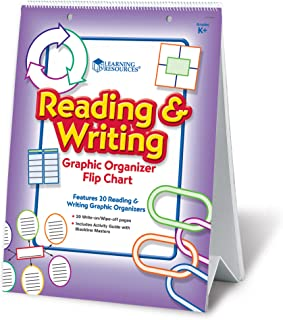 Learning Resources Reading and Writing Graphic Organiser Flip Chart