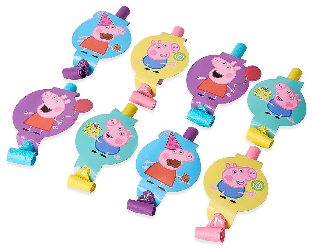 American Greetings Peppa Pig Party Blowers, 8-Count