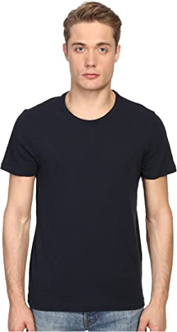 Vince - Short Sleeve Slub Crew Neck Shirt