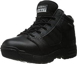 "Original S.W.A.T. Women's Metro Air 5"" Waterproof Side-Zip Women's Black Military & Tactical Boot, Black"