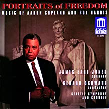 Portraits Of Freedom: Music of Aaron Copland and Roy Harris