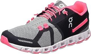 On Women's Running Cloud Sneaker, Grey/Neon Pink - 5.5 B(M) US