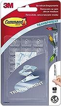 Command 17026CLR Mini-clips, 20 stuks Verpakking van 20 Mini Transparant