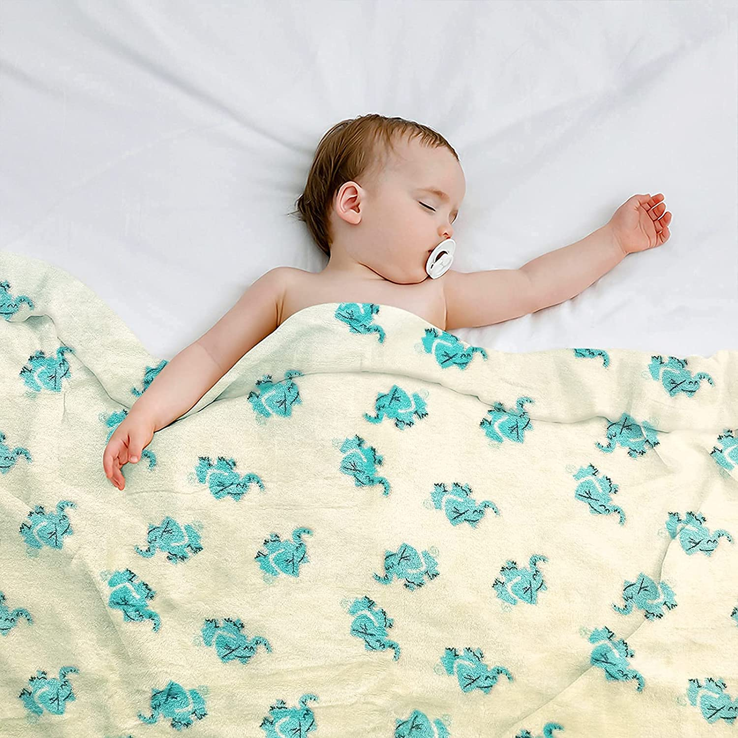 BT.WA Kids Blanket Flannel Throw Soft Ultra-Cheap Deals Baby T Max 79% OFF for