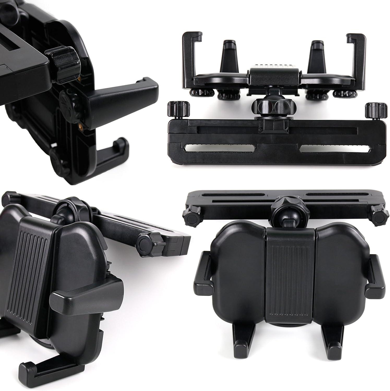 DURAGADGET in-Car Headrest Mount Popular brand w Suitable - fo Adjustable trend rank Arms