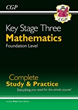 New KS3 Maths Complete Study & Practice - Foundation (with Online Edition) (CGP KS3 Maths)