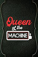Queen Of The Machine: Casino Notebook Journal Composition Blank Lined Diary Notepad 120 Pages Paperback Green