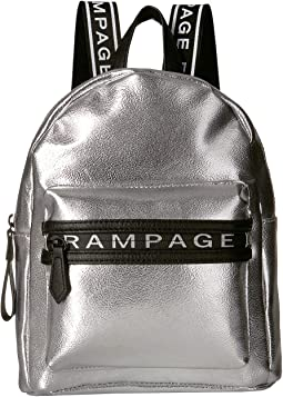 Midi Backpack with Branded Zipper