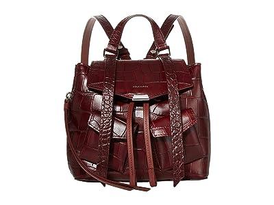 AllSaints Polly Mini Backpack (Bordeaux) Backpack Bags
