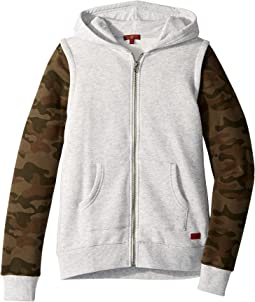 Twofer Fleece Hoodie (Big Kids)