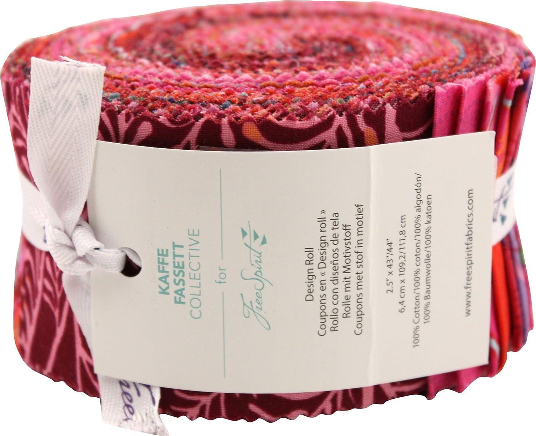 Free Spirit Fabrics Kaffe Daily bargain sale Fassett Design Rol Price reduction Lipstick Collective