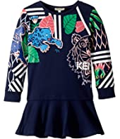Kenzo Kids - Multi Iconics Dress (Toddler/Little Kids)