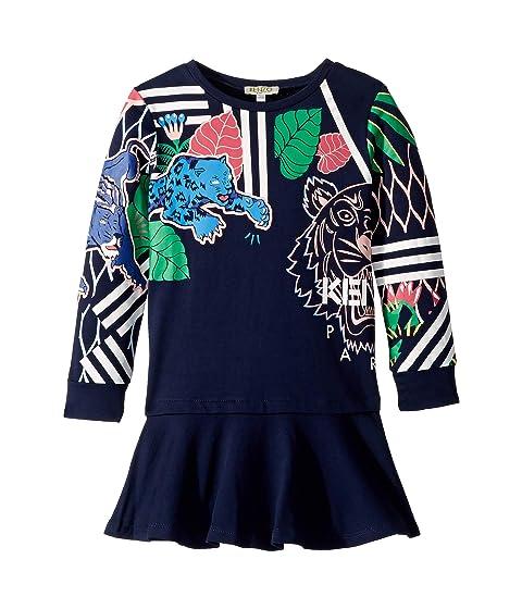 Kenzo Kids Multi Iconics Dress (Toddler/Little Kids)