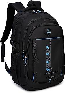 School Backpacks Student Bookbag Casual Shoulder Daypack Travel Back Pack for Teen Boys