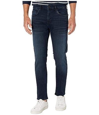 Mavi Jeans Jake Regular Rise Slim Leg in Deep Blue Black Williamsburg (Deep Blue Black Williamsburg) Men