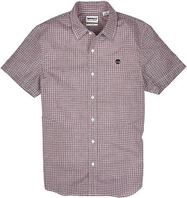 Timberland Camisa de manga corta para hombre, diseño de ...