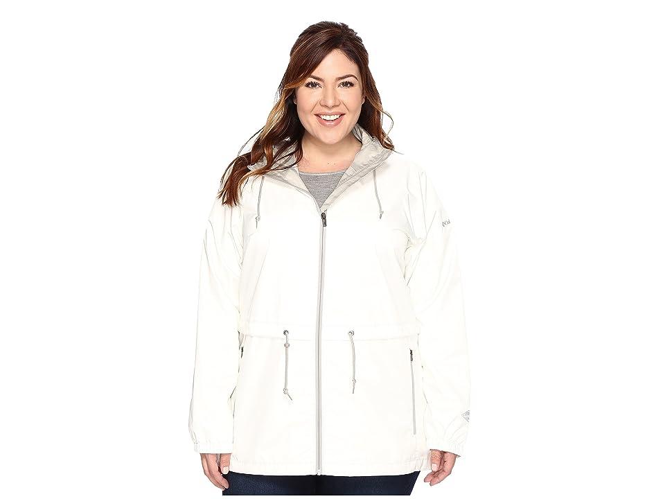 Columbia Plus Size Arcadia Casual Jacket (Sea Salt) Women
