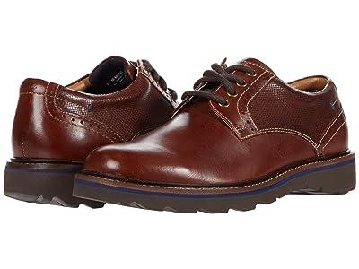 Nunn Bush Buchanan Plain Toe Oxford (Brandy) Men