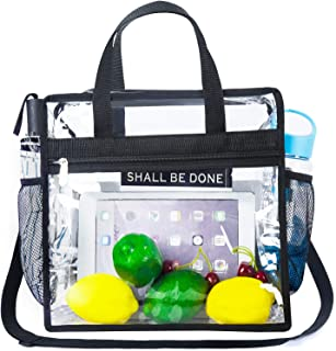 clear game day tote