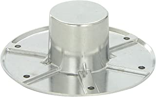 Russell by Edelbrock MA-1112 Chrome Flush-Base Round Table