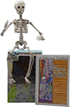 The Skeleton in the Closet - A Halloween Tradition - Children's Hardcover Book Set - Includes Book & Skeleton Doll