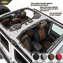 Smittybilt 472125 Tan Neoprene Seat Covers for 2018+ Jeep Wrangler JL 4-Door