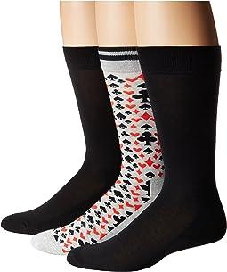 Lucky 8 Socks with Half Cushion 3-Pack