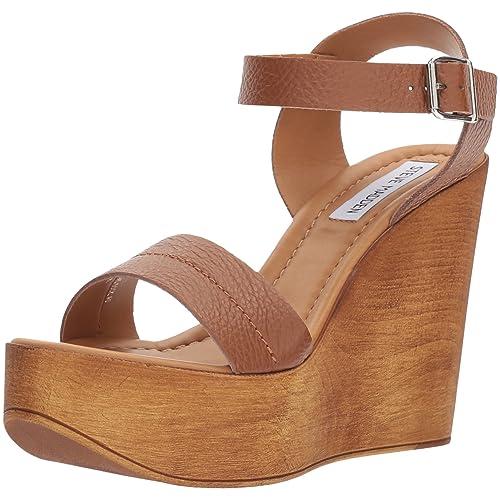 54d2ff9ec8 Steve Madden Women's Belma Wedge Sandal
