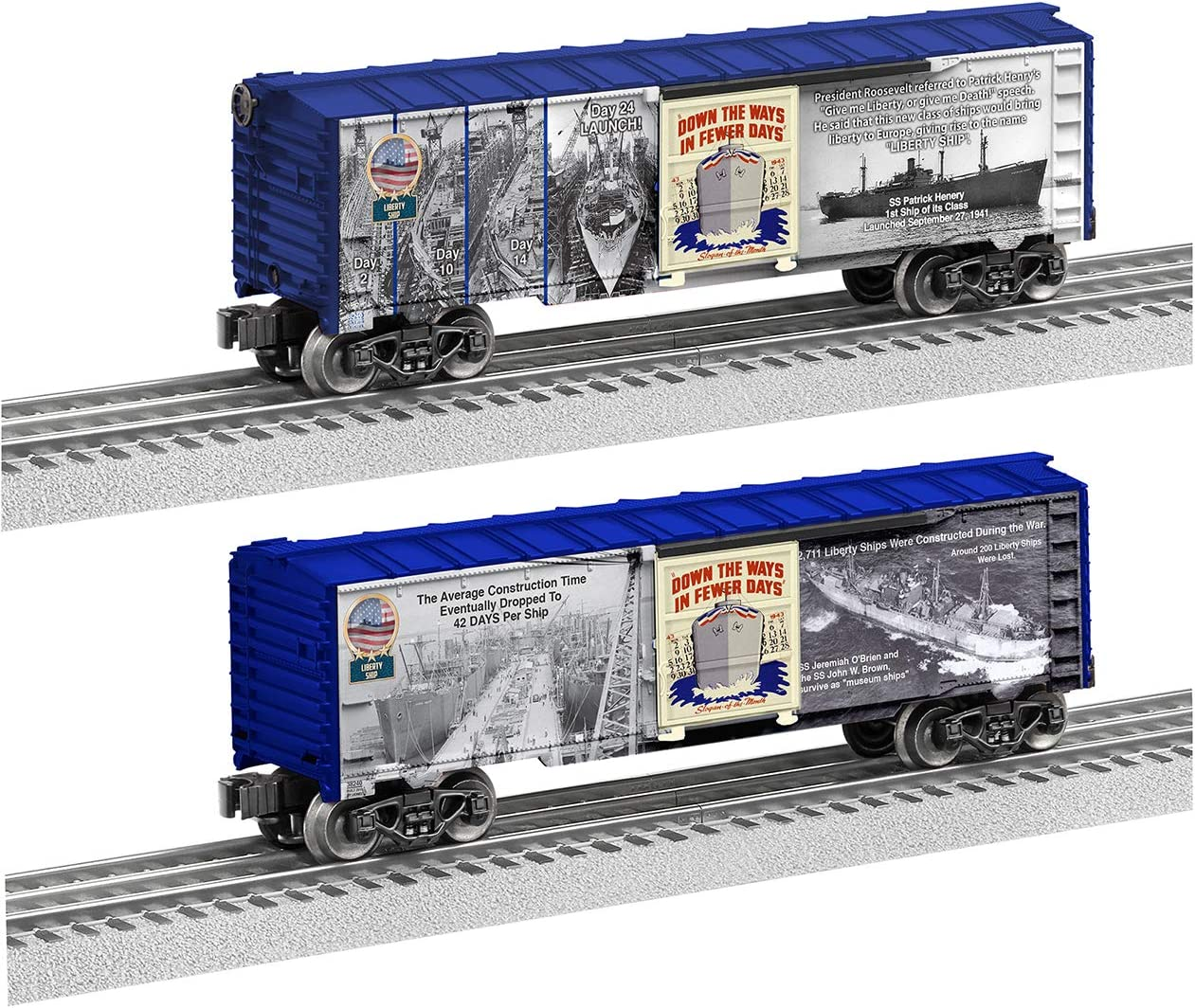 Lionel Trains - Liberty Ship O At the price Boxcar Max 41% OFF Gauge