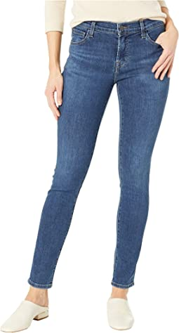 811 Mid-Rise Skinny Jeans in Moral