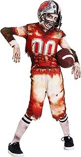 Kids Zombie Football Player Costume