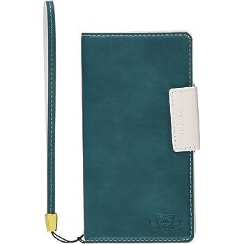 Natural Design FLAMINGO 手帳型 マルチサイズ対応 (マルチタイプ) ターコイズ