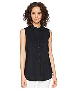 June Button Down Sleeveless Top