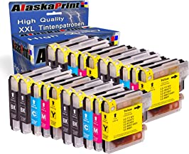 20x Druckerpatronen kompatibel für Brother LC-980 XL LC980 XL Brother DCP-145C DCP-163C DCP-165C DCP-167C DCP-185C DCP-195C DCP-365CN DCP-373CW DCP-375CW DCP-377CW DCP-383C DCP-385C