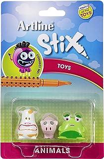 Artline Stix Toys 3Pk Animals
