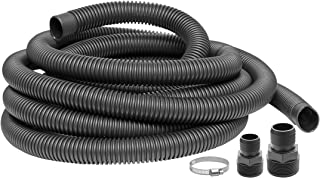 Superior Pump 99624 Universal Discharge Hose Kit, 24-Feet, with 1-1/4-Inch and 1-1/2-Inch Adapters (Renewed)