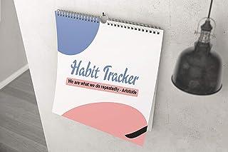 AccuPrints Habit Tracker/Developer - Size 8 by 9 inch, Paper 170 GSM (Wall Calendar)
