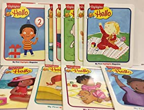 Highlights Hello My First Highlights Magazine 14-pack Collection (Stitched Binding)